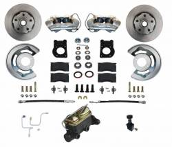 Disc Brakes - Brake Kits - Scott Drake - 64 - 66 Mustang Manual Front Disc Brake Conversion -Dual Reservoir Master Cylinder