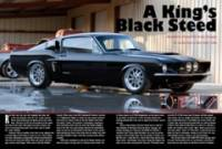 "February 2010: Legendary Ford Magazine: Lead Guitarist of ""Kings of Leon"" 67 Shelby Clone with Stang-Aholics Fiberglas"
