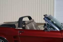 Convertible Top - Styling Bar Kits - Stang-Aholics - 65 - 68 Mustang Convertible Styling Bar, BLACK