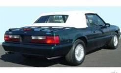 Scott Drake - 83 - 90 Mustang Black Convertible Top W/ Plastic
