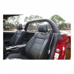 Love The Drive - 15 - 16 Mustang Convertible Wind Deflector Kit with Light Bar