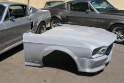 Body - Body Kits - Stang-Aholics - 67 - 68 Mustang Fastback Eleanor Fiberglass Kit with Fenders