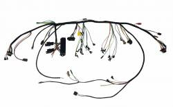 Wire Harnesses - Under Dash - Scott Drake - 1966 Mustang Under-Dash Wire Harness w/Premium Fuse Box and Relays