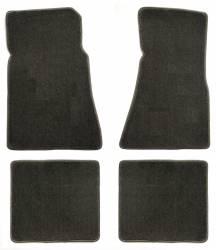 Carpet & Related - Floor Mat Sets - Lloyd Mats - 79 - 93 Mustang GREYFloor Mats (Set of 4), Choose Logo