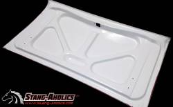 GTRS | MUSTANG PARTS - 65 - 66 Mustang Coupe or Convertible Shelby-Style Spoiler Fiberglass Deck Lid - Image 3