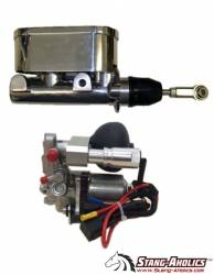 Master Cylinders & Boosters - Booster & Master Kits - Stang-Aholics - 65 - 73 Mustang Electric Assist Master Cylinder Kit for Coyote Conversions