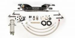 Steering - Rack & Pinion Kits - Unisteer - Late 67 - 70 Mustang Power Rack and Pinon, Small Block with Factory Air