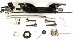 Steering - Rack & Pinion Kits - Unisteer - Late 67 - 70 Mustang Power Rack and Pinion, Big Block