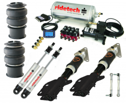 Suspension Kits - Front & Rear Packages - RideTech - 2015 - 16 Mustang Ridetech Air Ride Suspension System, Level 2