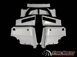 Trim Panels - Quarter Panels - Stang-Aholics - 67 - 68 Mustang Fastback Rear Interior Panel Kit