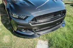 Valance - Front - TruFiber - 2015 - 2016 Mustang Carbon Fiber LG255 Chin Spoiler