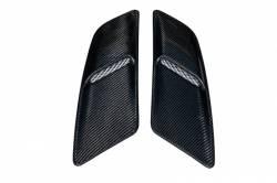 Carbon Fiber - Hood & Related - TruFiber - 2015 - 2016 Mustang Carbon Fiber LG244 Hood Vents