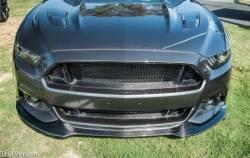 TruFiber - 2015 - 2016 Mustang Carbon Fiber LG239 Front Bumper Upper Grille - Image 4