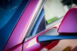 Carbon Fiber - Misc Pieces & Trim - TruFiber - 15 - 16 Mustang Carbon Fiber LG247 Mirror Triangle Covers