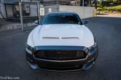 TruFiber - 2015-2016 Mustang Fiberglass A53 Ram Air Hood