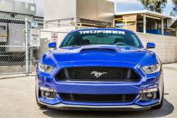 TruFiber - 2015-2016 Mustang Fiberglass A72 Ram Air Hood