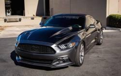Hood - Reproduction - TruFiber - 2015 - 2016 Mustang Carbon Fiber A49-3 Hood