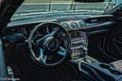 Carbon Fiber - Interior - TruFiber - 2015 - 2016 Mustang Carbon Fiber LG268 Dash Kit