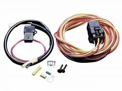 Cooling - Thermostat & Related - 1964 - 1973 Mustang  Electric Fan Wire Harness Kit w/ Relay for Spal Fans