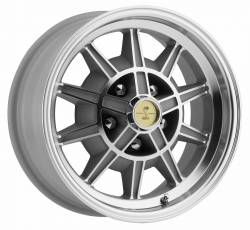 Legendary Wheel Co. - 67 - 68 Mustang GT7 Legendary 10 Spoke Alloy Wheel, 15X7, 4.25 Backspace