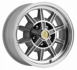 Wheels - 15 Inch - Legendary Wheel Co. - 67 - 68 Shelby Mustang 10 Spoke Alloy Wheel, 15X7, 4.25 Backspace