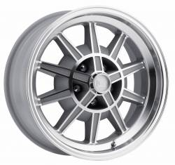 Legendary Wheel Co. - 67 - 68 Mustang GT7 Legendary 10 Spoke Alloy Wheel, 17X8, 4.75 Backspace