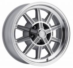 Legendary Wheel Co. - 67 - 68 Mustang GT7 Legendary 10 Spoke Alloy Wheel, 17X7, 4.25 Backspace