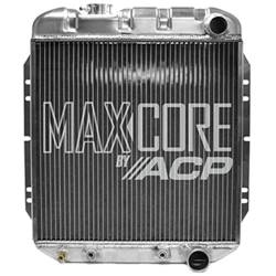 All Classic Parts - 65 - 66 Mustang V8 289 Aluminum MaxCore Radiator (OE Style 3 Row Plus)