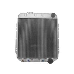 Radiators - 2 - Core - All Classic Parts - 65 - 66 Mustang V8 289 Aluminum MaxCore Radiator (OE Style 2 Row Performance)