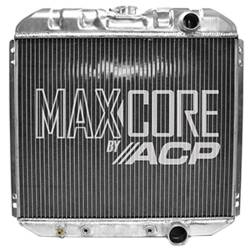 All Classic Parts - 67 - 69 Mustang, V8 289/302/351 Aluminum MaxCore Radiator (OE Style 3 Row Plus)