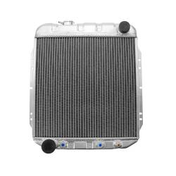 All Classic Parts - 64 - 66 Mustang V8 5.0 Conversion Aluminum Series MaxCore Radiator (OE Style 3 Row Plus)