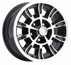 Wheels - 15 Inch - Legendary Wheel Co. - 65 - 73 Mustang 15X7 Legendary GT6 10 Spoke Alloy Wheel, Shelby GT-350 Style