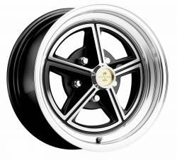 Wheels - 15 Inch - Legendary Wheel Co. - 65 - 73 Mustang 15X7 Legendary Magstar Alloy Wheel Gloss Black