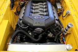 C & R Racing - 64 - 66 Mustang Radiator Module 5.0 Coyote 2 Row, with Power Steering Cooler - Image 2