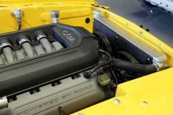 C & R Racing - 64 - 66 Mustang Radiator Module 5.0 Coyote 2 Row, with Power Steering Cooler - Image 5