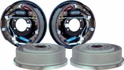 "Drum Brakes - Drum Assembly - Currie Enterprises | Mustang Parts - 11"" Mustang Rear Drum Brake Kit, Completely Assembled"