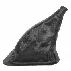 1979-1993 Mustang Parts - 1979-1993 New Products - Drake Muscle Cars - 87-93 Mustang Manual Transmission Shifter Boot with Carbon Fiber Pattern