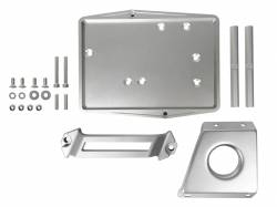 Electrical & Lighting - Battery - Scott Drake - 64 - 66 Mustang Billet Aluminum Battery Tray Kit, Restomod