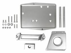Electrical & Lighting - Battery - Scott Drake - 67 - 70 Mustang Billet Aluminum Battery Tray Kit, Restomod