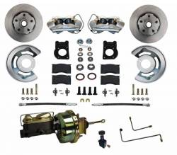 Disc Brakes - Brake Kits - Scott Drake - 64 - 66 Mustang Power Front Disc Brake Conv Kit, Auto Trans