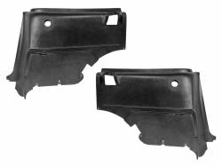 Trim Panels - Quarter Panels - Scott Drake - 67 - 68 Mustang Rear Interior Quarter Panels (Fastback)
