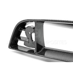 Body - Grilles - Anderson Composites Mustang Parts - 10-14 Mustang SHELBY GT500 & 13-14 GT/V6 Carbon Fiber FRONT UPPER GRILLE