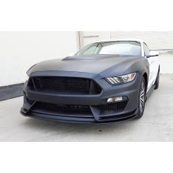 Bumpers - Front - Anderson Composites Mustang Parts - 2015 - 2016 MUSTANG GT350 Fiberglass Front Bumper