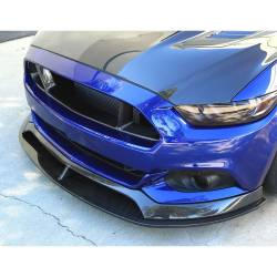 Anderson Composites Mustang Parts - 2015 - 2016 MUSTANG TYPE-AR Carbon Fiber Front Chin Splitter/Lip