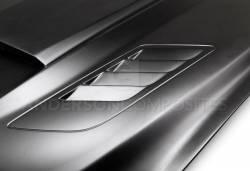 Anderson Composites Mustang Parts - 2015 - 2016 MUSTANG RAM AIR Fiberglass Hood - Image 3
