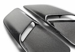Anderson Composites Mustang Parts - 2015 - 2016 MUSTANG GT TYPE-OE Carbon Fiber Hood Vents - Image 3