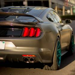 Spoilers - Rear - Anderson Composites Mustang Parts - 2015 - 2016 MUSTANG GT350 Carbon Fiber Rear Spoiler