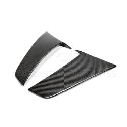 Body - Scoops - Anderson Composites Mustang Parts - 2015 - 2017 MUSTANG  Carbon Fiber Side Scoops(pair)