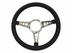 "Steering Wheel & Related - Steering Wheels - Stang-Aholics - 64 - 73 Mustang 14"" Volante 9 Bolt 2"" Depth STEERING WHEEL KIT, 3 Hole Spoke"