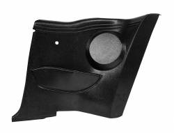 Trim Panels - Quarter Panels - Scott Drake - 64 - 68 Mustang Coupe Interior Quarter Panels with Speaker Pods
